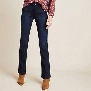 NWT Paige ILLA Manhattan Bootcut dark jeans